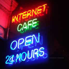 HV Neon Internet Cafe