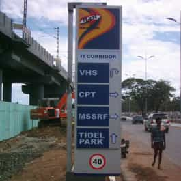 Pylon Sign Board - Itel groups
